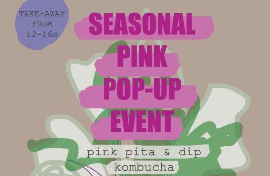 pink beetroot pop up event